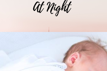 how to get a newborn to sleep at night