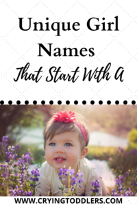 unique girl names that start with a