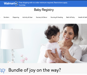 where to do baby registry
